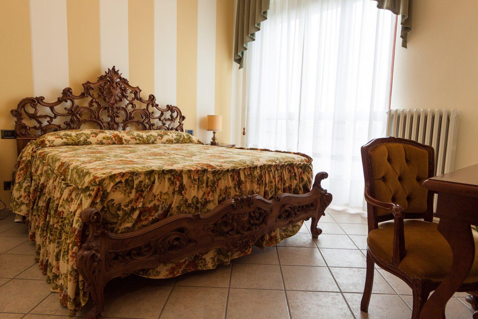 Le camere dell'hotel Belvedere