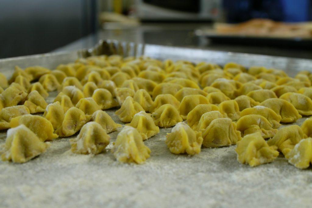 Ravioli del plin cucina tipica piemontese