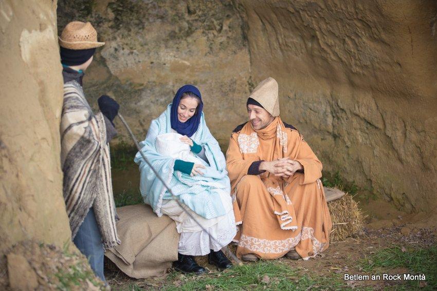Natale Betlem an Rock a Montà