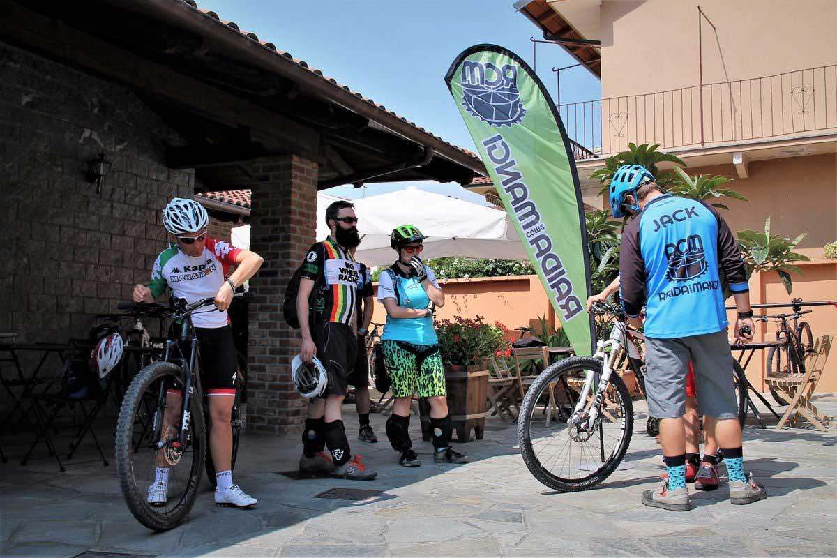 Belvedere bike hotel nelle Langhe e Roero