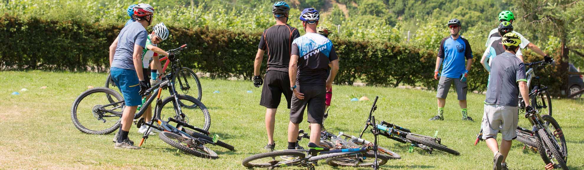 Mtb trails bike Langhe Roero