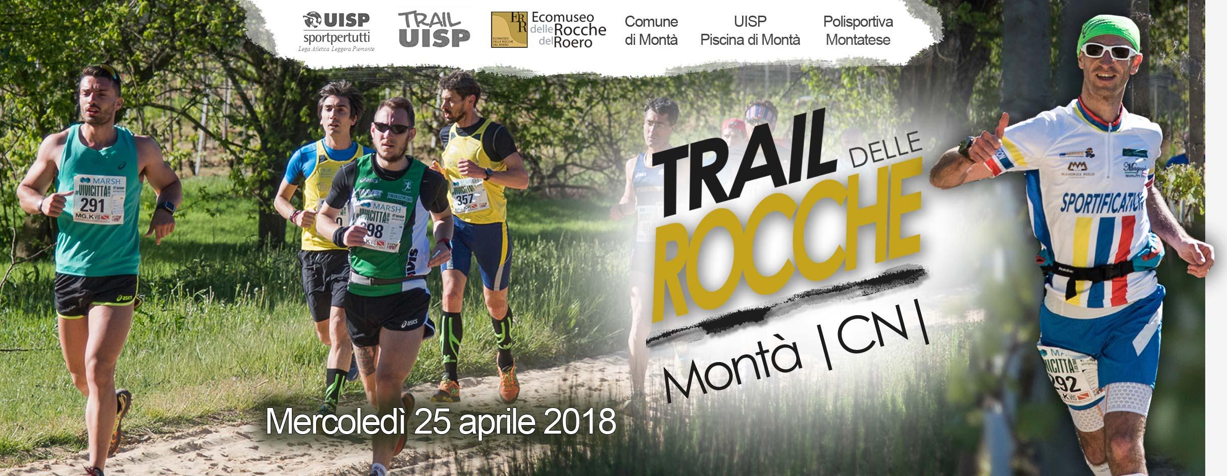 Trail delle Rocche del Roero a Montà 25 aprile