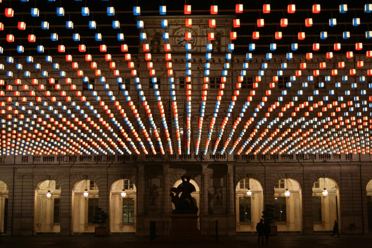 Luci d'Artista a Torino 2018. Foto d'archivio by: Artribune.com
