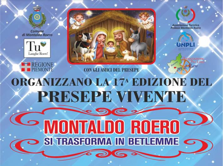Presepe vivente a Montaldo Roero. 15 e 16 dicembre